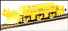 Hattons H4-BH-006 Beilhack snow plough (ex Class 45) ZZA ADB966099 in BR yellow with NSE Branding